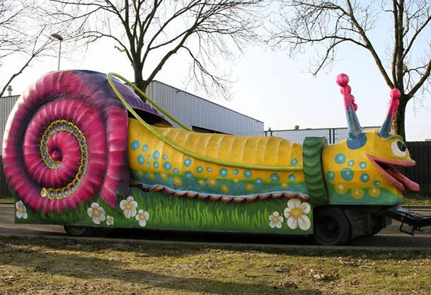 Carnaval- praalwagen