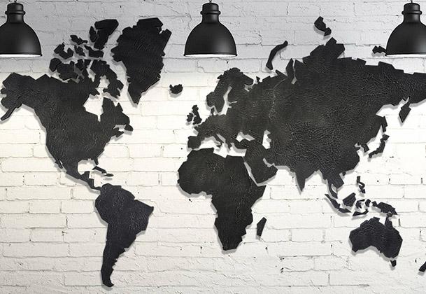 Wereldkaarten design