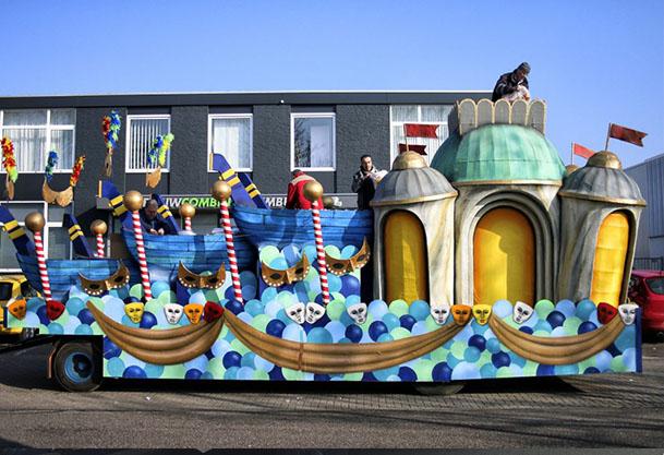 praalwagen-decoratief schilderwerk