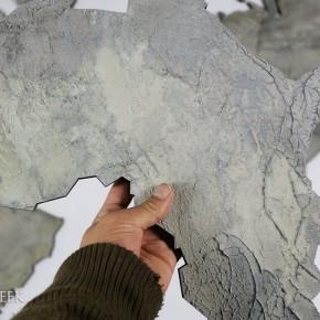 Wereldkaart-grijs