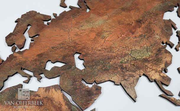 decoratie wereldkaarten