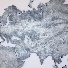 luxe wereldkaart