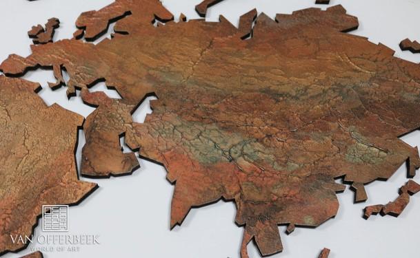 maatwerk wereldkaart