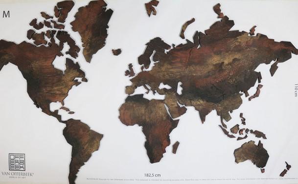 wereldkaart VanOfferbeek