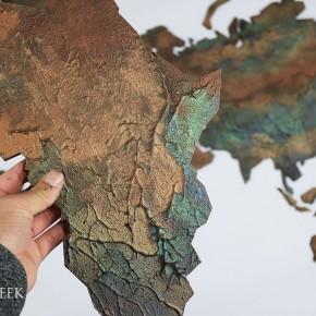 wereldkaart geschilderd 5