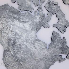 wereldkaart zilver1