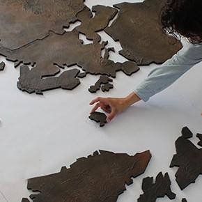 World Of Art - Wereldkaart